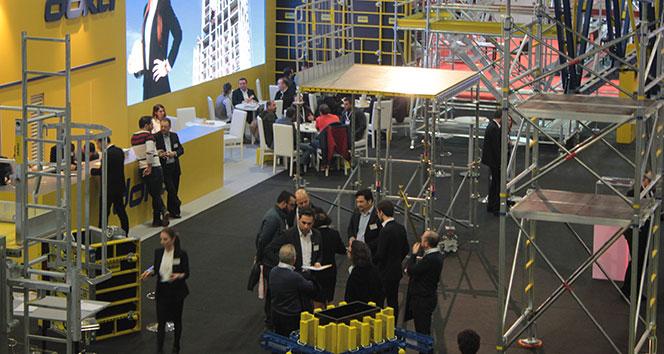 6'ncı Uluslararası İskele Kalıp ve Endüstriyel Yapı Teknolojileri İhtisas Fuarı 29 Mart'ta başlıyor