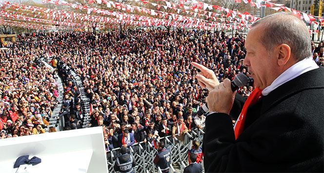 Cumhurbaşkanı Erdoğan: Bu akşama kadar o 3 bini aşar