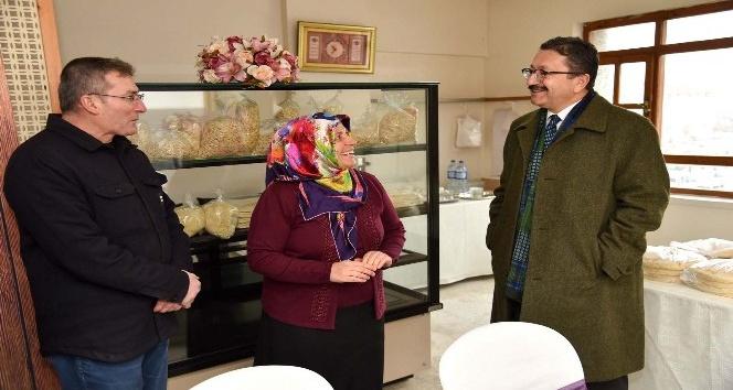 Altındağ'ın girişimci kadınları durmak bilmiyor