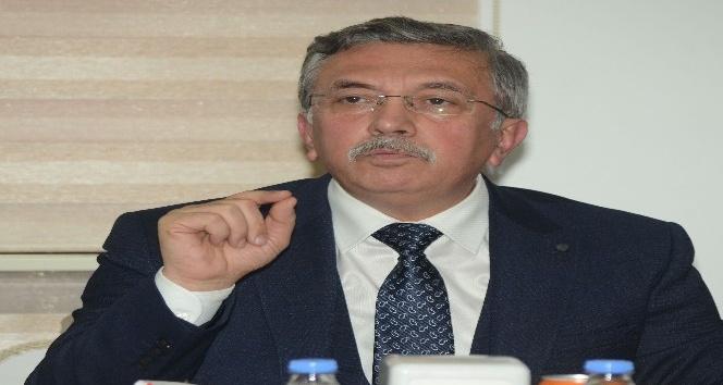 Yerel Gazeteciler Derneği Başkan Çetin'i ziyaret etti