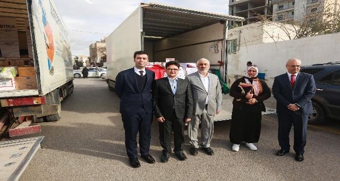 Libya'da 400 aileye gıda yardımı