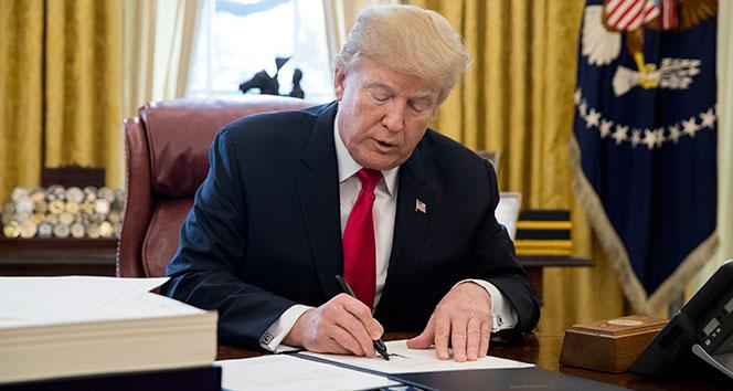Trump bugün imzayı atıyor! 'Savaş' bu akşam başlayacak