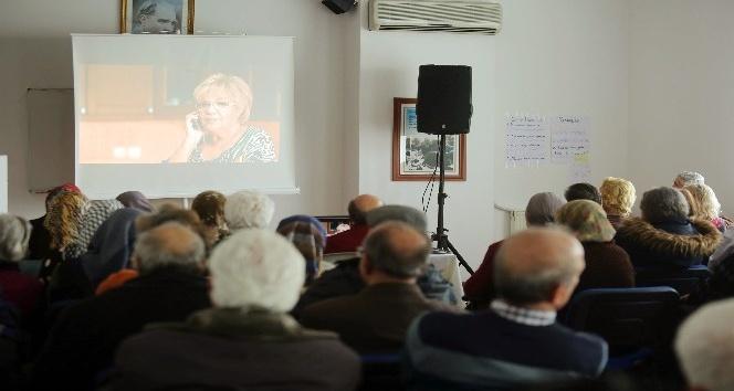 Yaşlı Dayanışma Merkezleri'nde sinema günleri