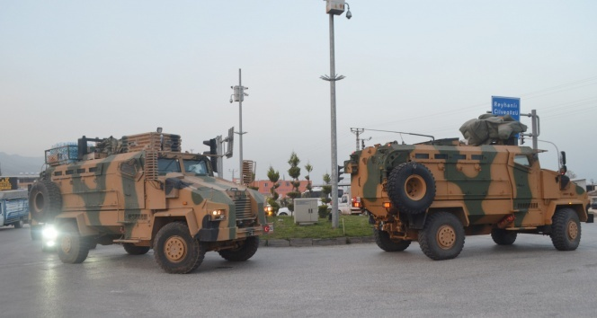 Hataya giriş yapan komandolar sınır birliklerine ulaştı