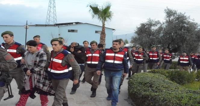 Muğla ve Denizli'deki hırsızlık operasyonunda 8 tutuklama