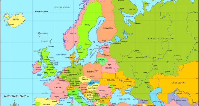 İşte Avrupa'nın uyuşturucu haritası