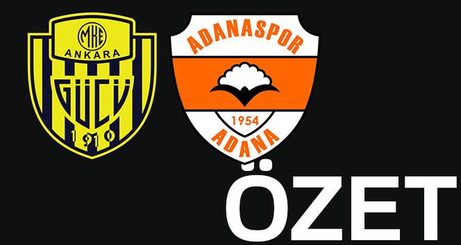 ÖZET İZLE: Ankaragücü 2-1 Adanaspor Maçı Geniş Özeti ve Golleri İzle|Ankaragücü Adana kaç kaç bitti?