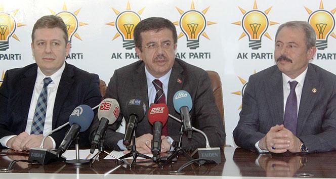 Zeybekci: Afrin Harekatının ekonomimize olumsuz etkisi olmayacak