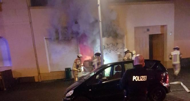 Almanyada bir camiye saldırı daha