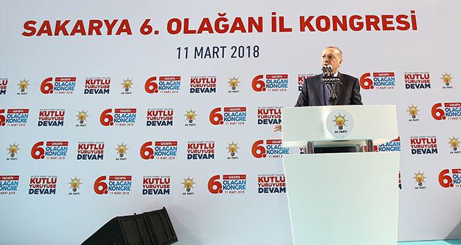 Erdoğan: Buraları nasıl terk ettiklerini çok iyi öğrensinler