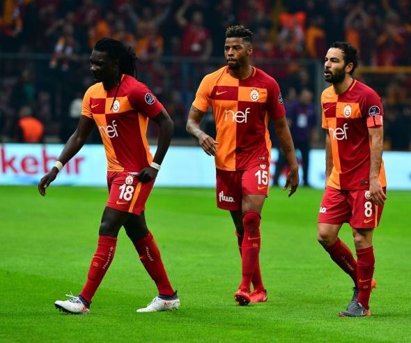 Galatasaray Konya'yı 2 golle geçti