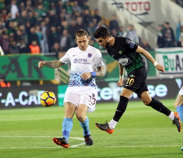 Akhisarspor Trabzonspor maçından kareler
