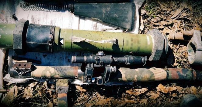 TSKdan terör örgütüne büyük darbe! Güdümlü tanksavar füzesi...