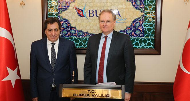 AB Türkiye Delegasyonu Başkanı Berger'den Bursa'ya övgü