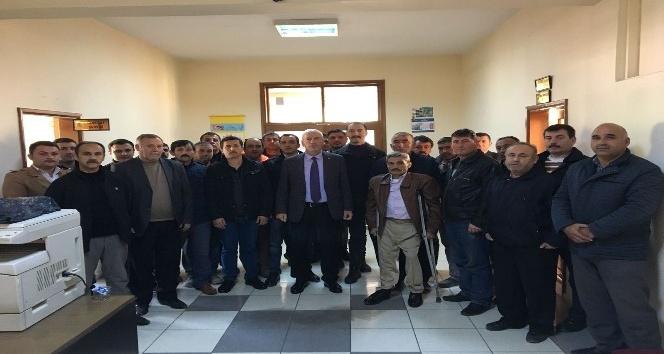 Alaçam Belediyesinde taşeron işçi mülakatları başladı