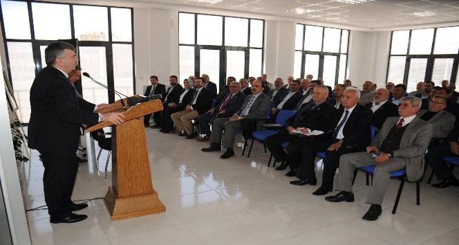 Başkan Akyürek Selçuklu Muhtarlar Derneği'nin genel kuruluna katıldı