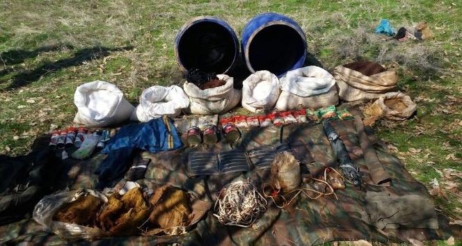 Hizan'da ele geçirilen el yapımı patlayıcı imha edildi