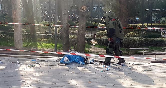 Ankarada şüpheli paket polisi alarma geçirdi