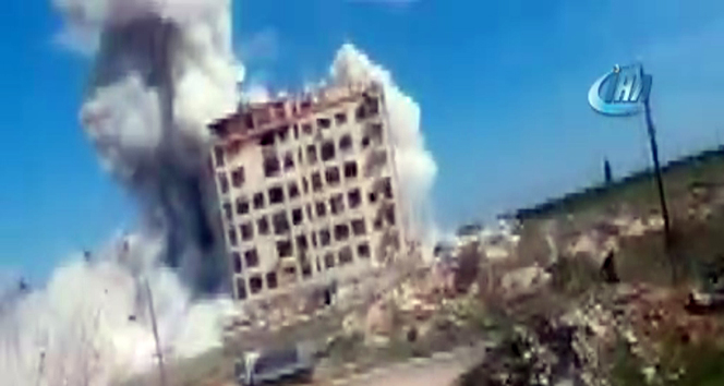 İdlibde hava saldırısı: 4 ölü, 11 yaralı