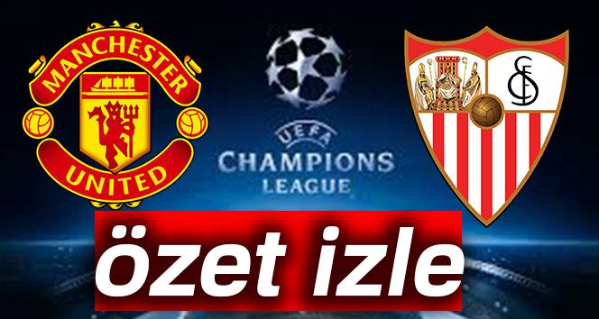 ÖZET İZLE: Manchester United 1-2 Sevilla Maçı Özeti ve Golleri İzle |Manchester United Sevilla Maçı Kaç Kaç Bitti?