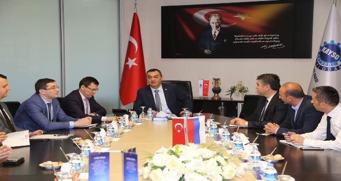 Rusya Federasyonu Türkiye Ticaret Mümessilliğinden KAYSO'ya Ziyaret