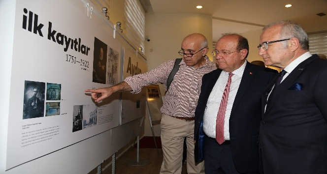 Aydın'ın Görsel Tarihi vatandaşlara sunuldu