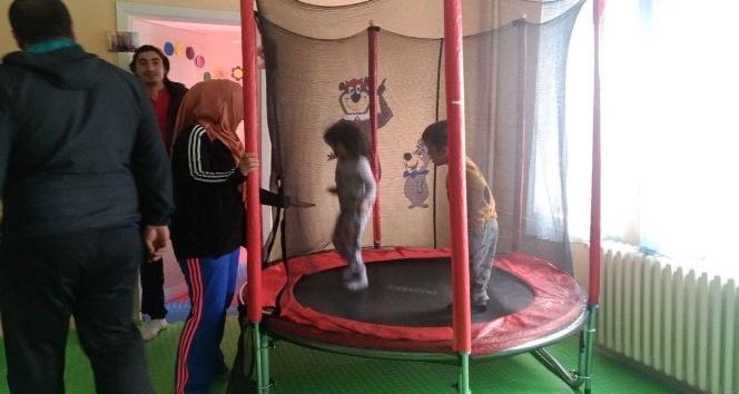 Tatvan'da engelli öğrencilere spor kursları