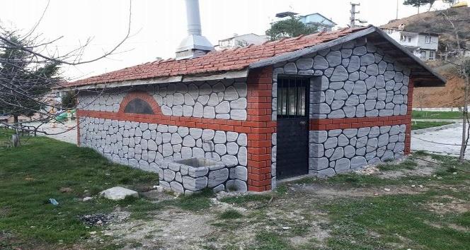 Simav'da mahalle fırınları yenileniyor
