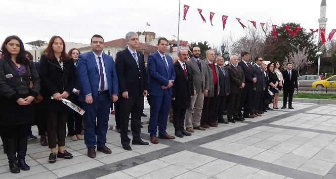 Edirne'de 14 Mart Tıp Bayramı törenle kutlandı