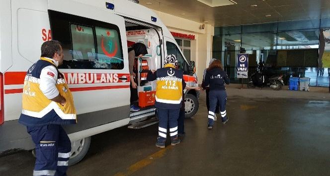 Düzce'de pansiyonda kalan 10 kız öğrenci karın ağrısı şikayeti ile hastaneye kaldırıldı