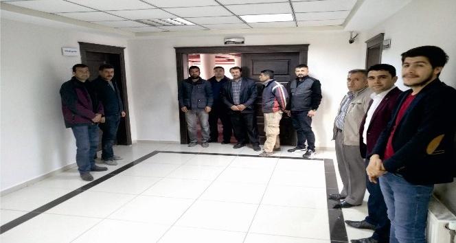 Kahta Belediyesi taşeron işçileri mülakata girdi
