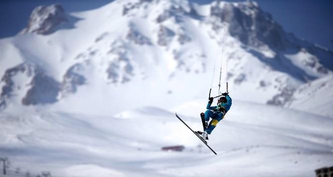 Erciyes Kayak Merkezi dünyada bir ilki yapacak