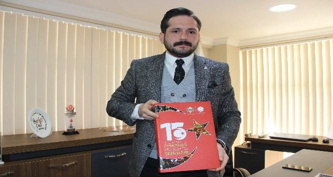 Manisa'da hazırlanan '15 Temmuz Şehitleri' albümü şehit ailelerini üzdü