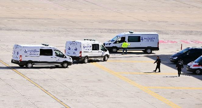 İran'da düşen Türk uçağında hayatını kaybedenler İstanbul'da