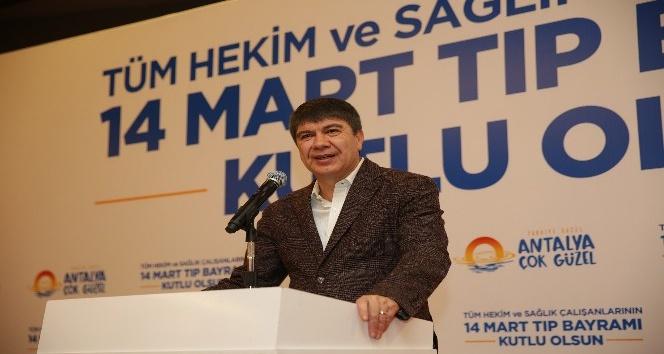 Başkan Türel, Tıp Bayramı'nı kutladı