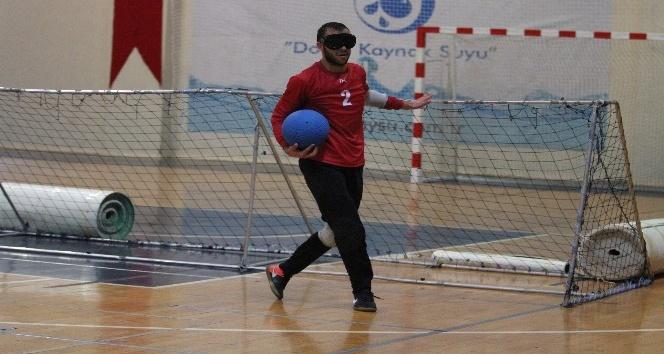 Alanya'daki 1. ve 2. Lig  Erkekler  Goalball  Türkiye  Şampiyonası