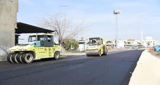 Sanayi sitelerinde asfalt hamlesi