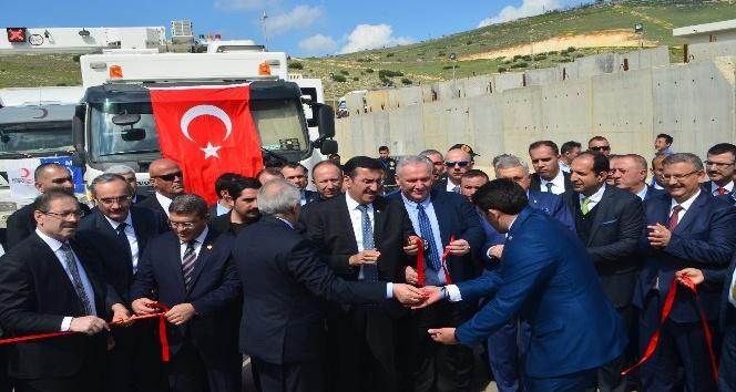 Gümrük ve Ticaret Bakanı Tüfenkci'den Reyhanlı ziyareti