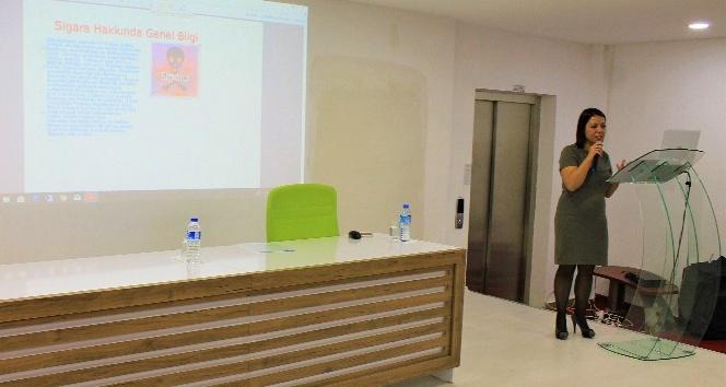 Pekfen'de bağımlılık semineri