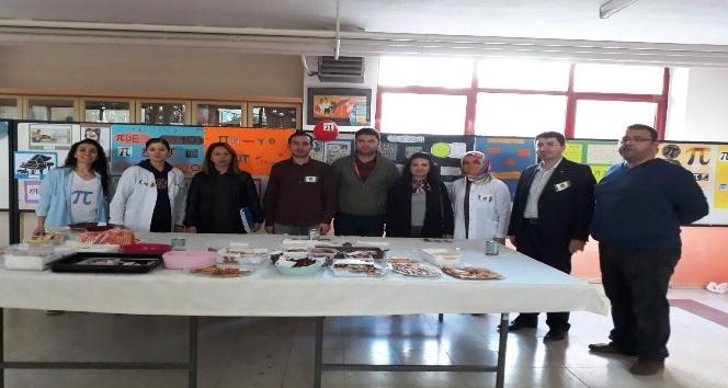 75. Yıl Ortaokulu'nda Dünya Pi Günü kutlandı
