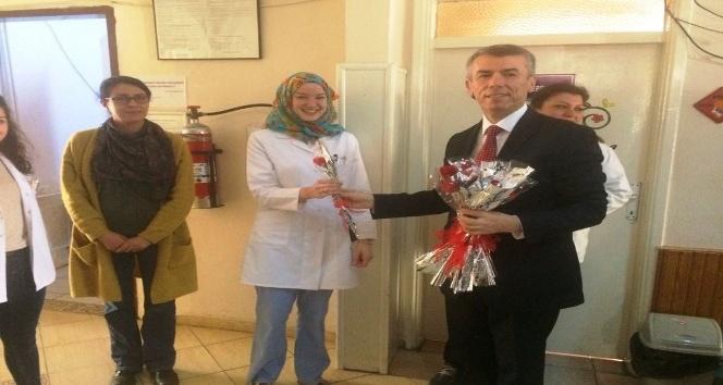 Kaymakam Sırmalı 14 Mart Tıp Bayramını kutladı