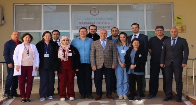 Başkan Uyan 14 Mart Tıp Bayramı'nı kutladı