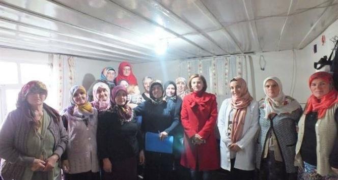Daday'da kadınlara 'çiftçilik' ve 'kadına şiddet' eğitimi verildi