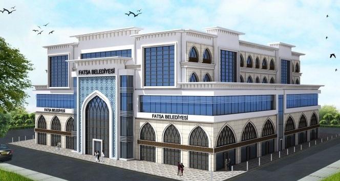 Yeni belediye binasındaki ofisler ihaleye çıkıyor