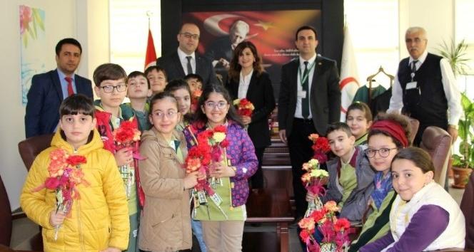 Çamlıca öğrencileri, 14 Mart Tıp Bayramını unutmadı