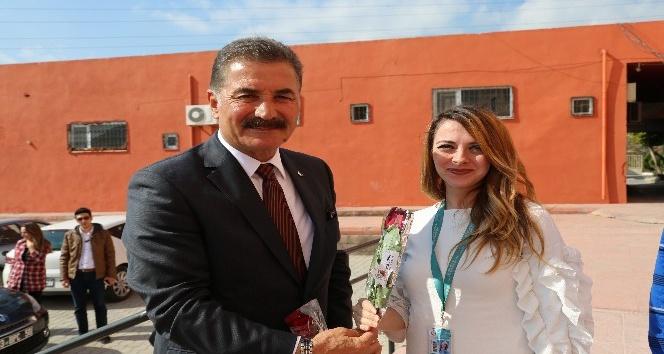Başkan Tuna, sağlık çalışanlarını unutmadı