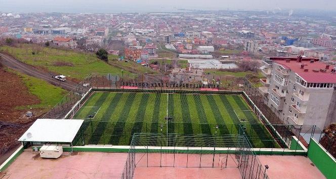 Tekkeköy Naim Süleymanoğlu Spor Kompleksi yakında açılacak