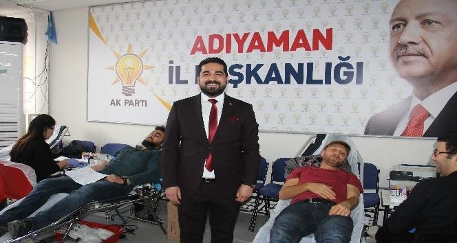 Mehmetçiğe destek için kan bağışı düzenlendi