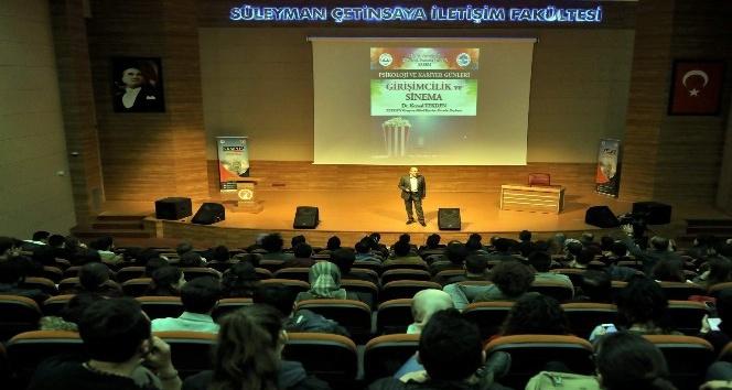 ERÜ'de 'Girişimcilik ve Sinema' Anlatıldı