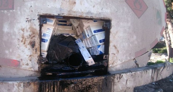 Şanlıurfa'da 43 bin paket kaçak sigara ele geçirildi